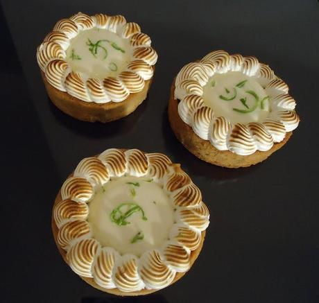 Key lime pie revisitée