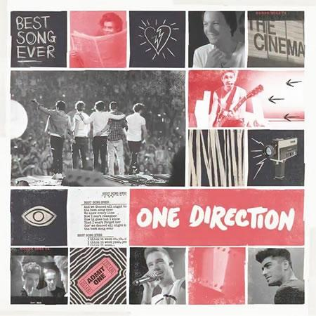 One Direction pochette single Best Song Ever Photo © DR