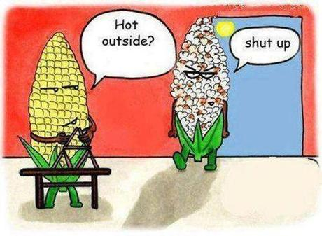 hot outside