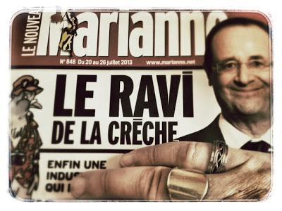 Hollande, ravi de la crèche ?