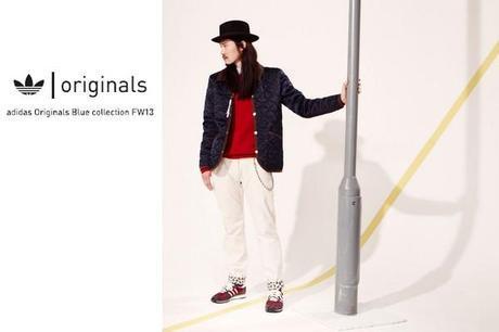 La collection Adidas Originals Blue