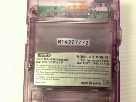 Game Boy Pocket Jap Mint