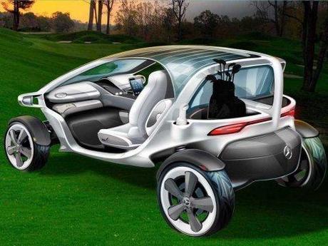 Mercedes a sa propore vision de la voiturette de Golf