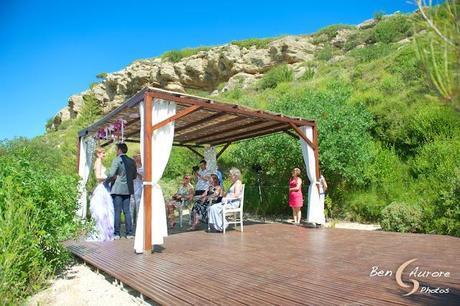 mariage cérémonie d'engagement abbaye de sainte croix