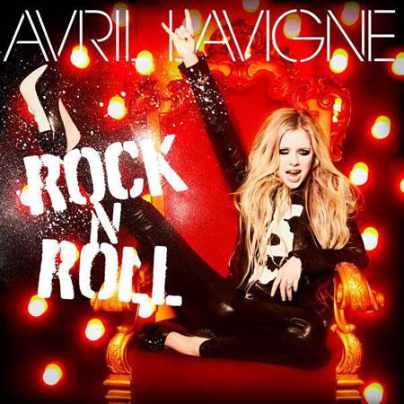 Avril Lavigne pochette du single Rock N Roll photo © DR