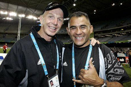 Eric Rush Gordon Tietjens All Blacks Sevens
