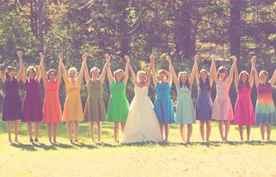 Le casse-tête de la robe de demoiselle d'honneur / How to choose the perfect bridesmaid dress