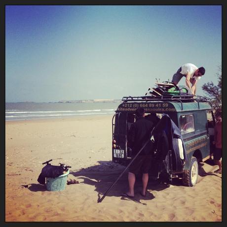 Kitesurf à Essaouira