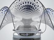 pavillon solaire portable recharge Volvo