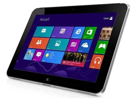 Test de la tablette tactile HP Elitepad 900 G1 sous Windows 8