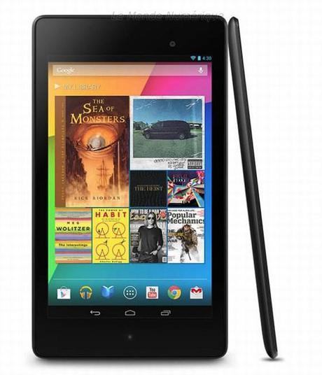 Google dévoile la nouvelle tablette Nexus 7 : Full HD, 2 Go de RAM et à partir de 229 €