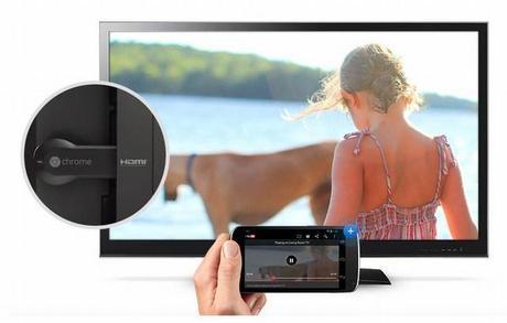 Chromecast, la clé HDMI sous Chrome OS pour rendre la TV connectée