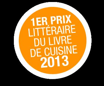 1er Prix littéraire du livre de cuisine.