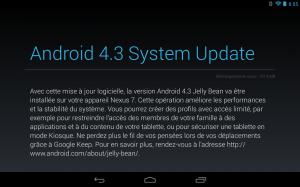 nexus 07 300x187 Forcer la MAJ Android 4.3 sur Nexus 4 & 7