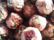 Boulettes viande coriandre menthe