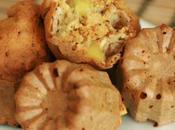 Muffins pommes, pavot flocons d'avoine