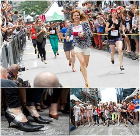 Festival mode et design: La course à talons hauts est de retour!