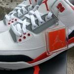 Air Jordan 3 Fire Red – nouvelles photos