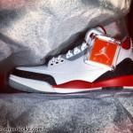 Air Jordan 3 Fire Red Retro 2013