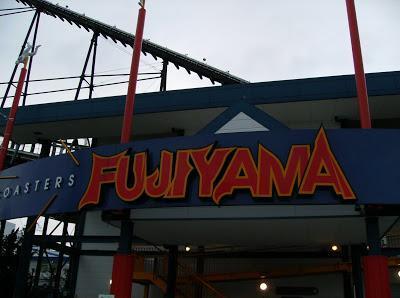 Sensations fortes au Fuji Q Highlands