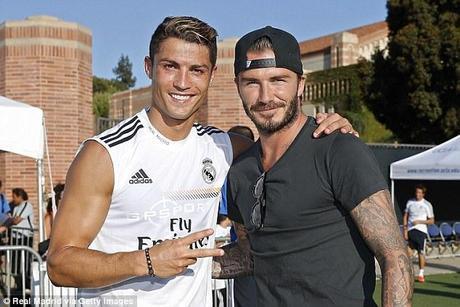 Beckham rend visite au Real à LA
