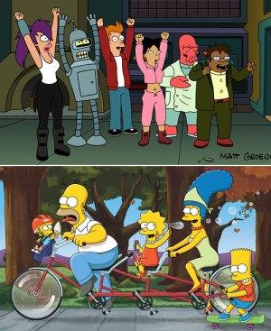 Simpsons-Futurama