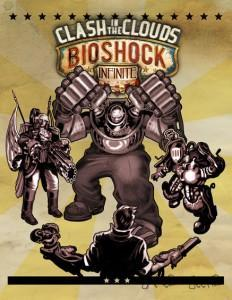 1375186942 clash in the clouds key art 232x300 Bioshock Infinite de Columbia à Rapture  vidéo DLC Bioshock Infinite