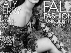 Katy Perry bucolique pour Vogue magazine