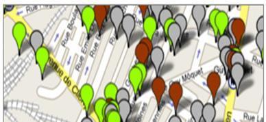Peuplade.fr-Google Mash-up permettant de visualiser les membres de peuplade proche de chez soi
