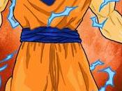 Naruto couleur dans costume Goku.