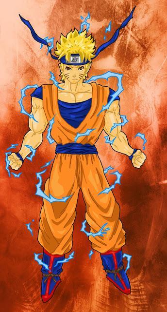 Naruto en couleur dans son costume de goku paperblog - Naruto dessin couleur ...