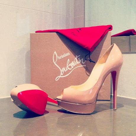From the top of my Louboutin