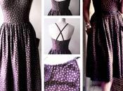 patron gratuit robe d'été vintage variations