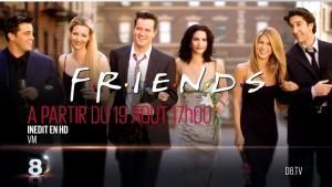 Friends sur D8 en HD