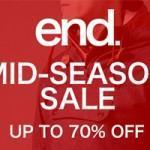 Soldes sur EndClothing, jusqu'à -70%