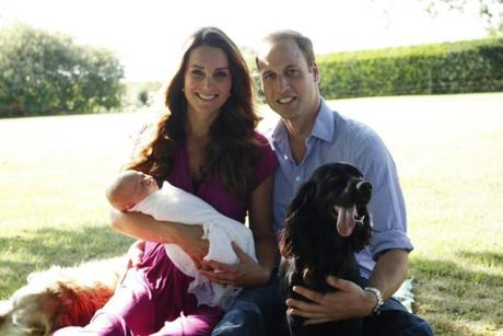 Royal baby : Voici les photos officielles du Prince George