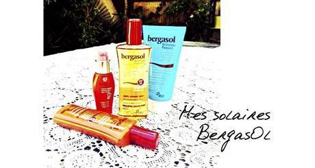 solaires bergasol, huile sèche bergasol, lait après soleil
