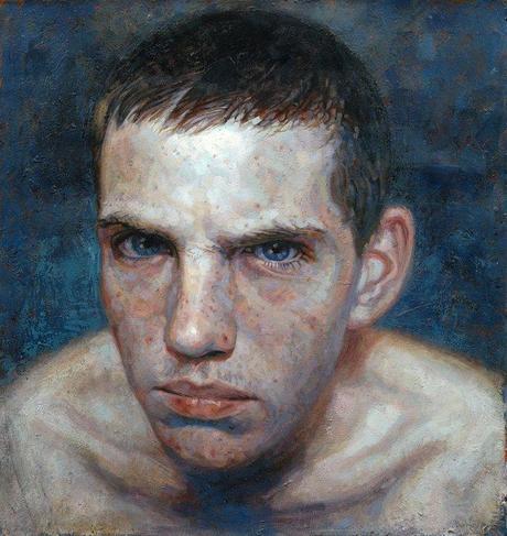 Daniel Barkley – Rob With Spots, acrylic on canvas