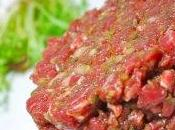 Tartare bœuf classique