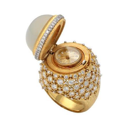 Bague en or luxe