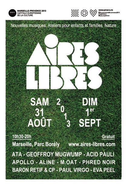 Aires Libres Parc Borély 2013