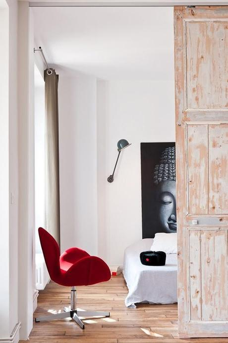 Minimalist loft in Paris