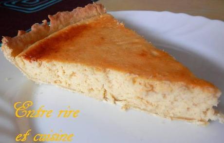 Gateau Leger Au Fromage Blanc Sur Pate A Tarte Maison Express