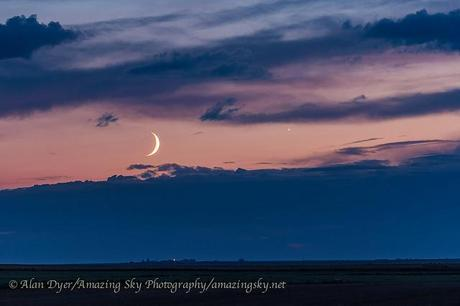 Moon and Venus (Sept 8, 2013)