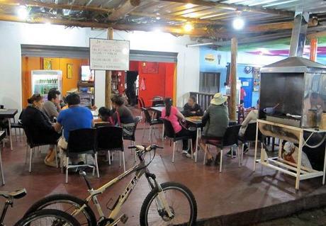 Restaurant local sur Santa cruz aux Galapagos