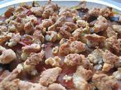 Plat Crumble Ratatouille, Parmesan Chèvre