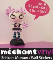 Les stickers muraux en Méchant Vinyl