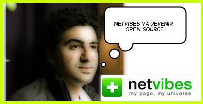 Netvibes deviendra open source