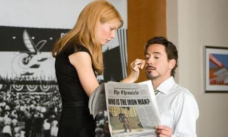 Gwyneth Paltrow & Robert Downey Jr