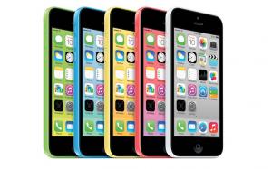 Apple dévoile l'iphone 5C